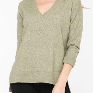 Eco Friendly V Neck Sweater